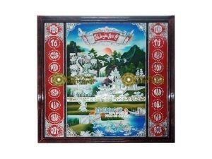 Liễng Sơn mài Khảm Trai