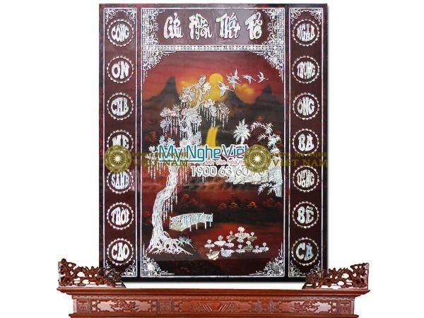 Liễng Sơn mài Khảm Trai SMA195/810 ( Hàng đặt)